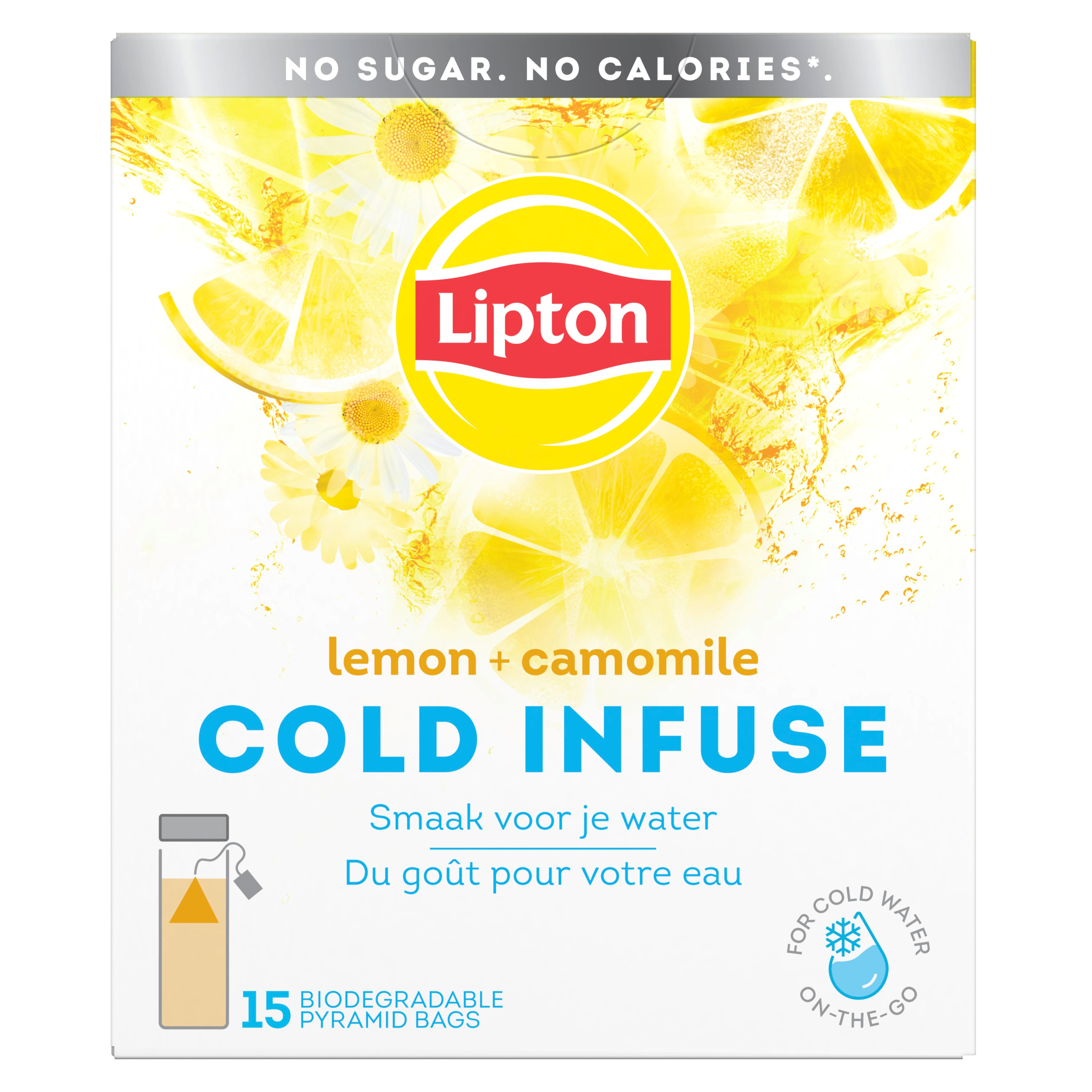 Lipton Cold Infuse Lemon Chamomille -
