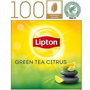 Lipton Everyday Thé Vert Agrumes