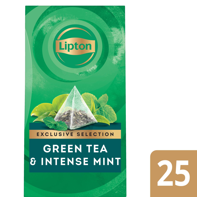 Lipton Exclusive Selection Thé Vert Menthe Intense