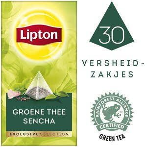 Lipton Exclusive Selection Thé vert Sencha -
