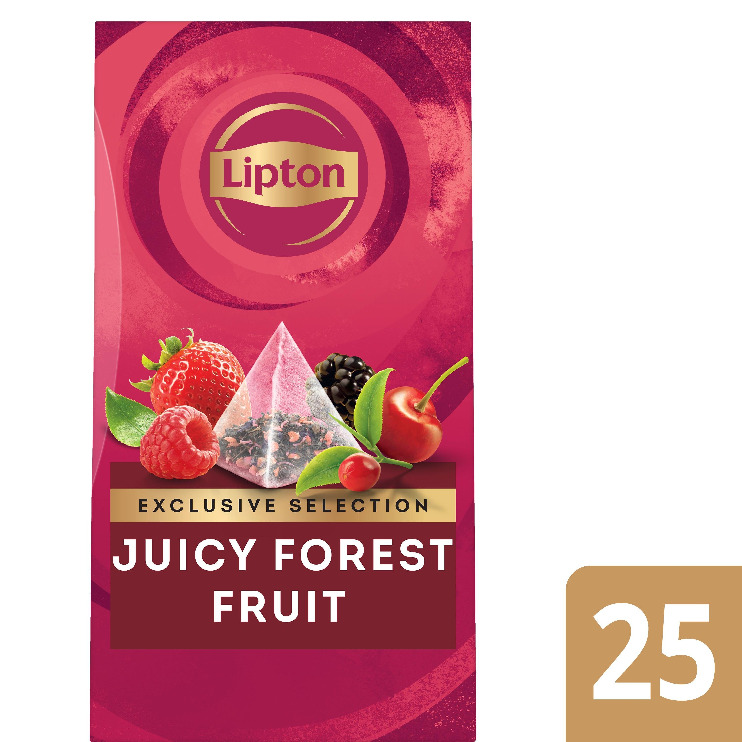Lipton Trendy T Fruits de Bois 25 sachets -