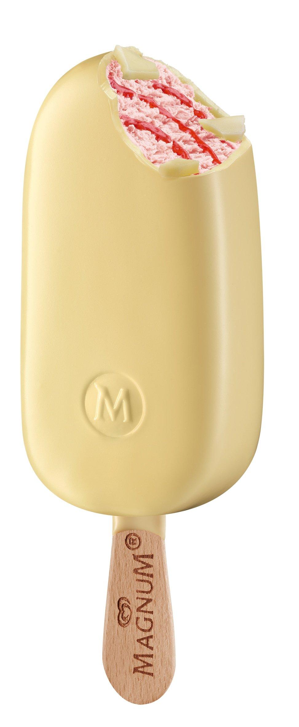 Magnum Strawberry White | 20 x 110 ml -