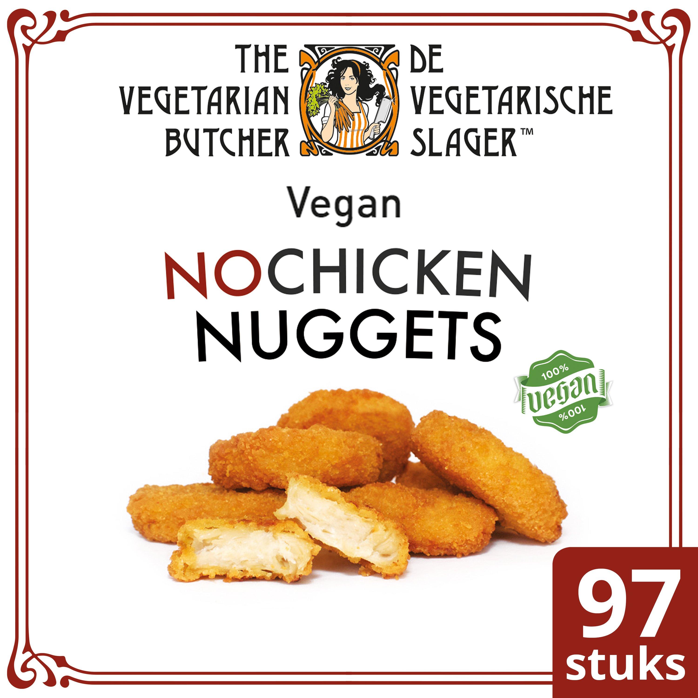 The Vegetarian Butcher NoChicken Nuggets 1.75 kg - Nuggets végétaliens, fait à partir des meilleurs ingrédients