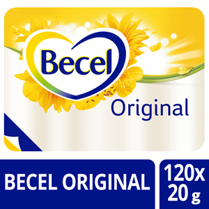 Becel Original 60% Portions - Becel, ma marque de margarine favorite.