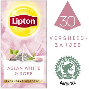 Lipton Exclusive Selection Argent d'Asie et Rose - Lipton Exclusive Selection offre à vos clients une experience exceptionnelle.