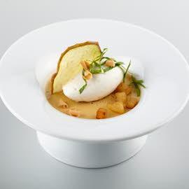 Pot de crème beurre salé aux pommes
