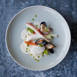 Ragoût de poisson de la mer du Nord