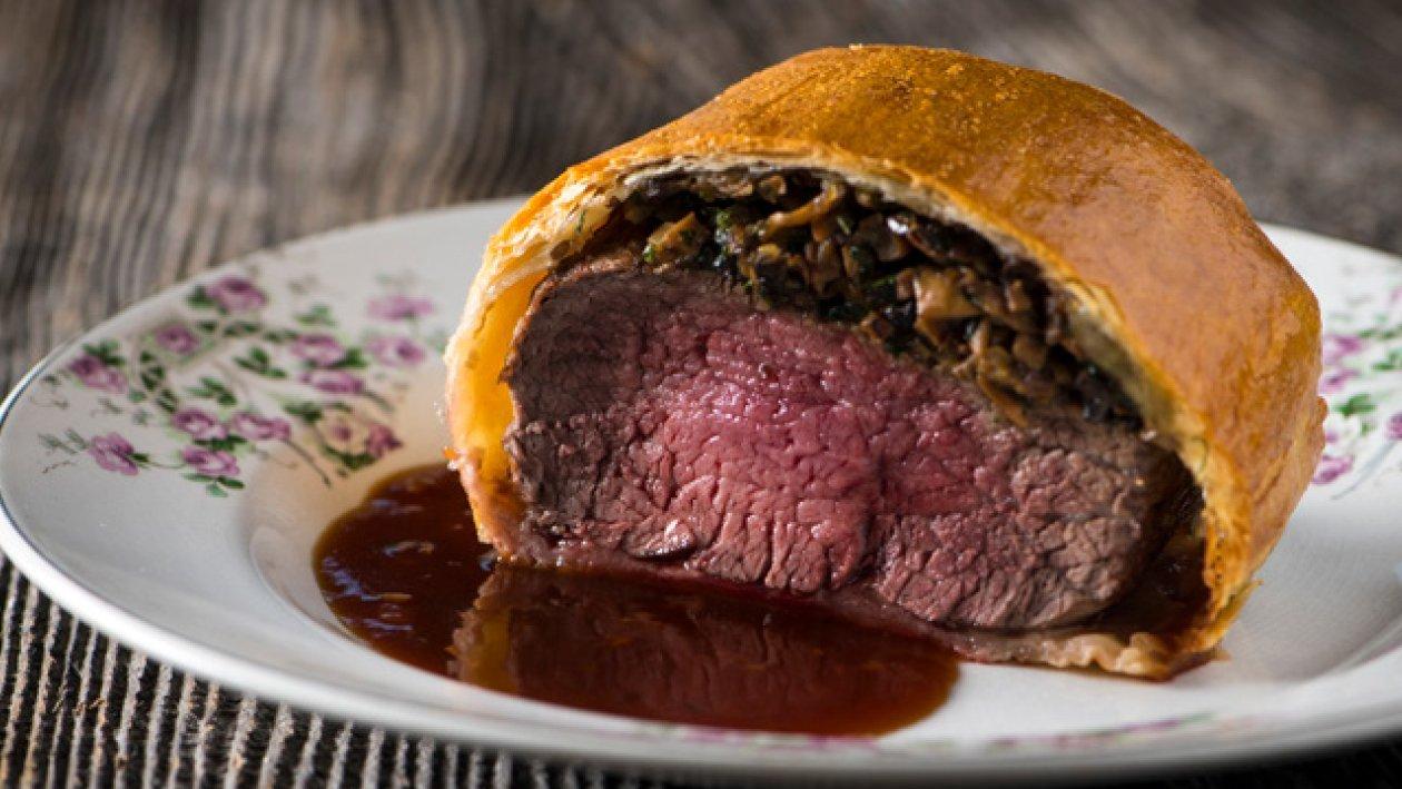Bœuf Wellington à la sauce madère – Recette
