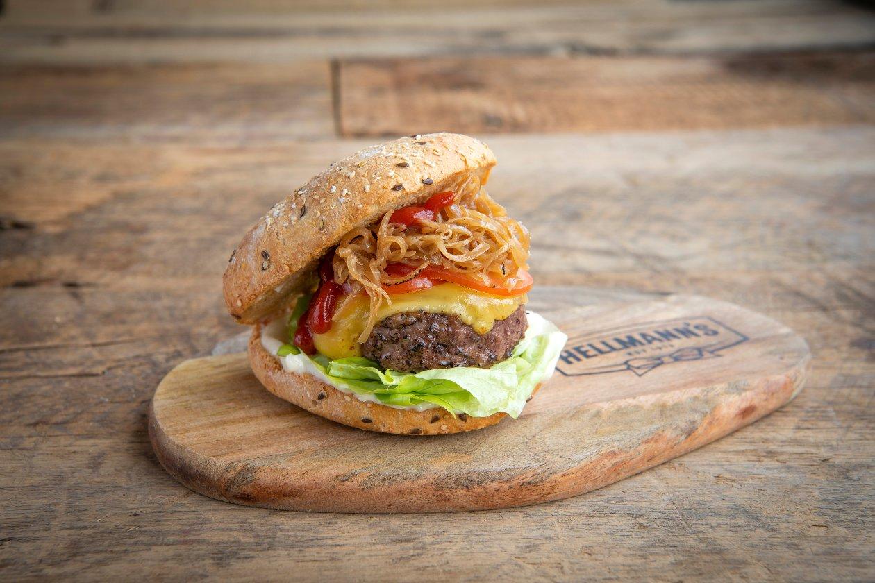 Burger de bœuf fumé – Recette