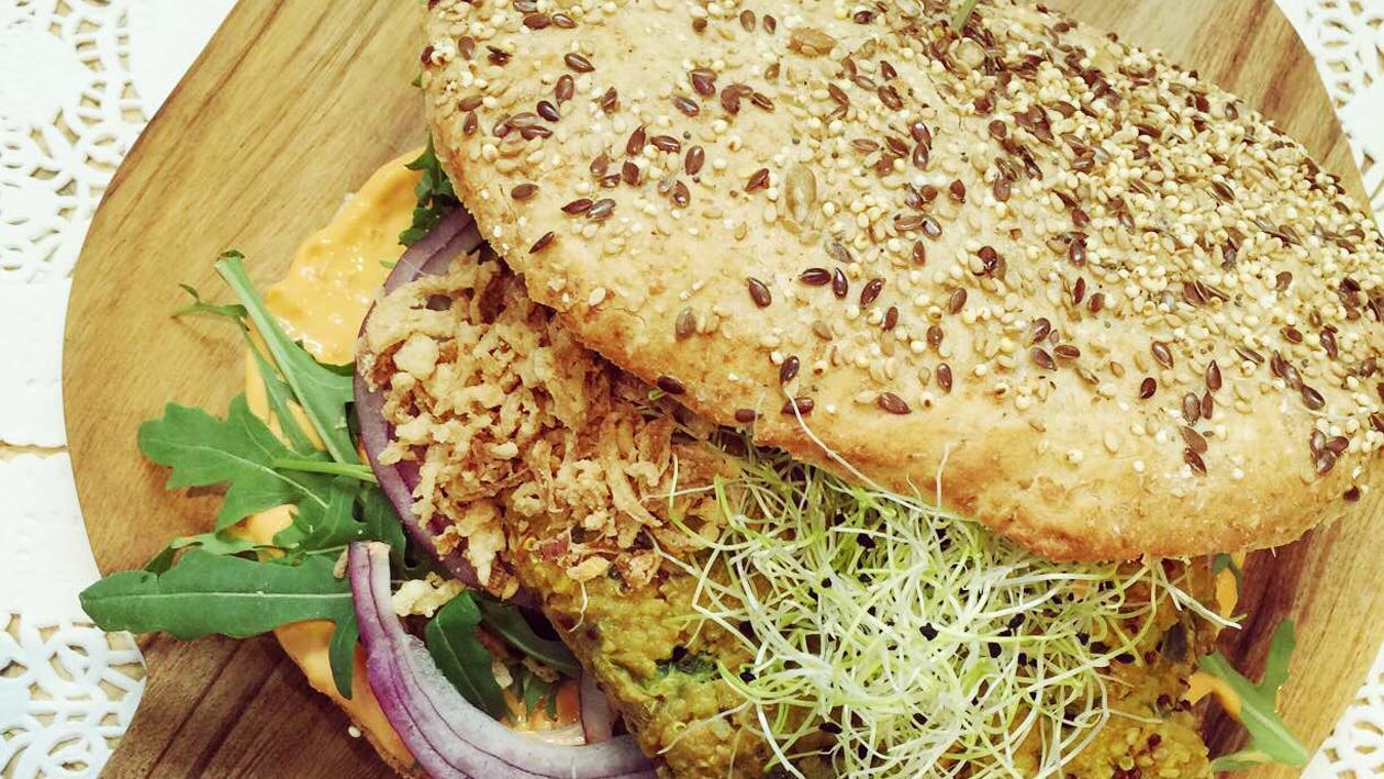 Burger de quinoa de Leontine – Recette
