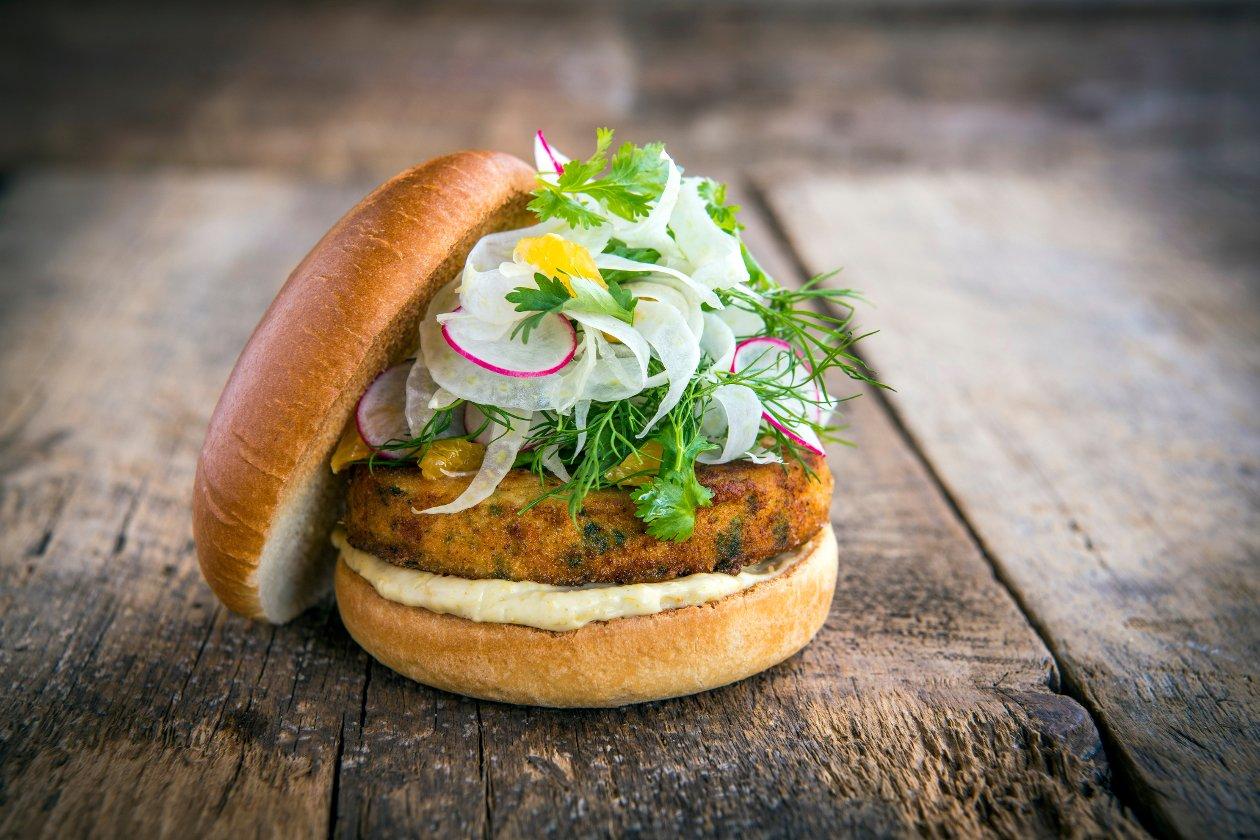 Burger de saumon thaïlandais – Recette