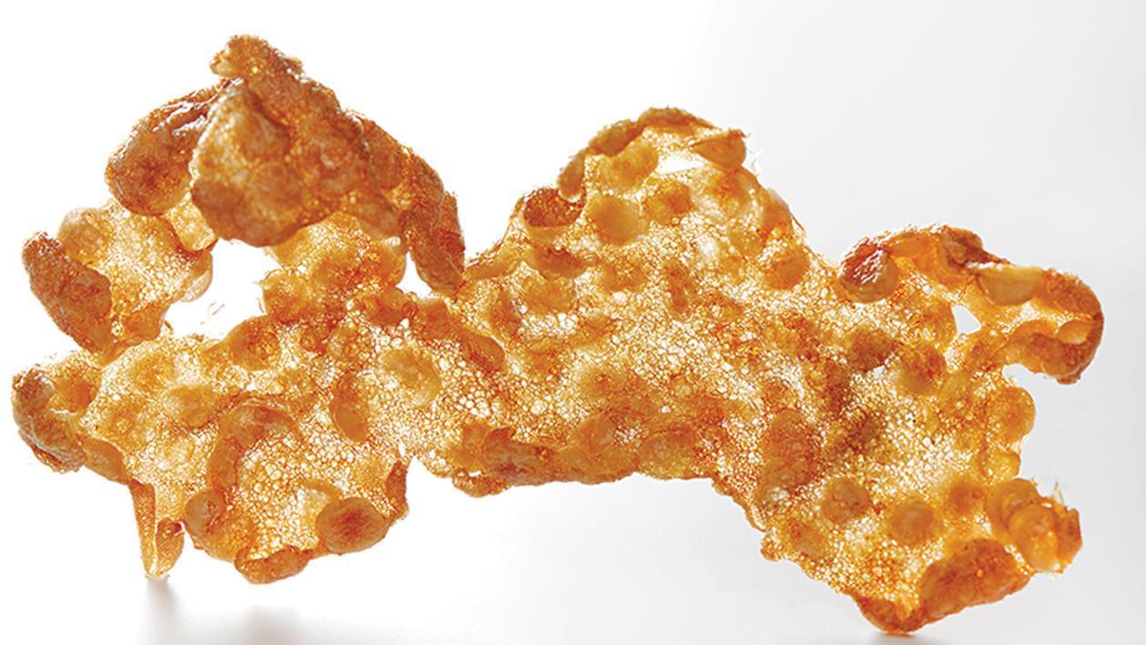 Chips de crustacés – Recette