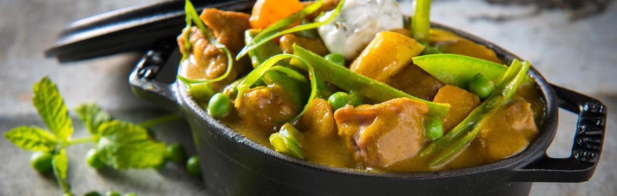 Curry d'épaule d'agneau – Recette
