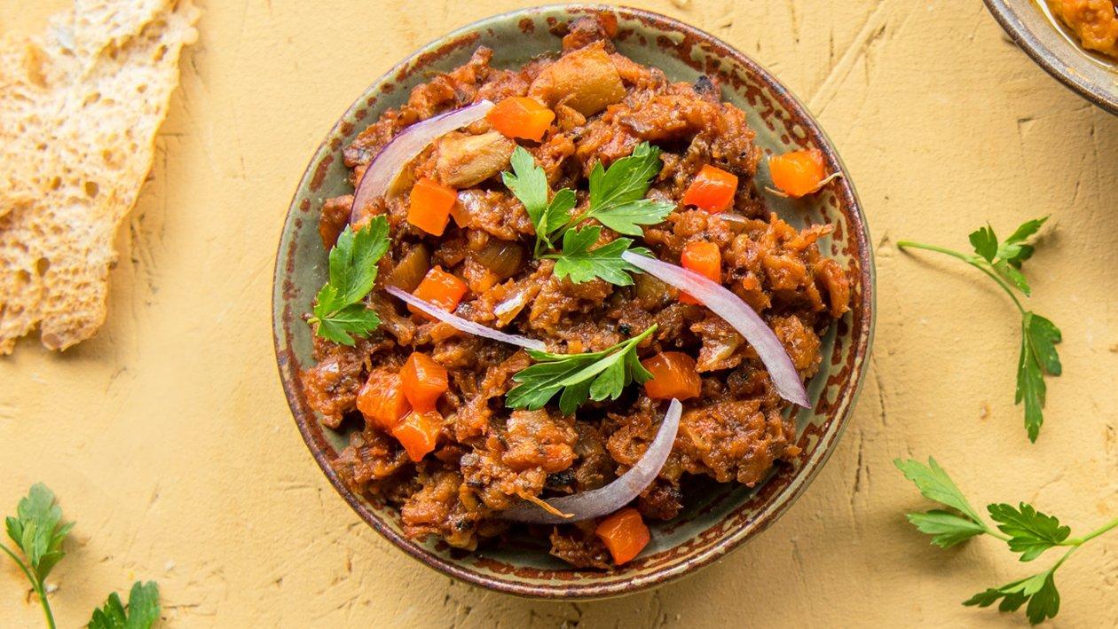 Dip provençal aux aubergines et tomates – Recette
