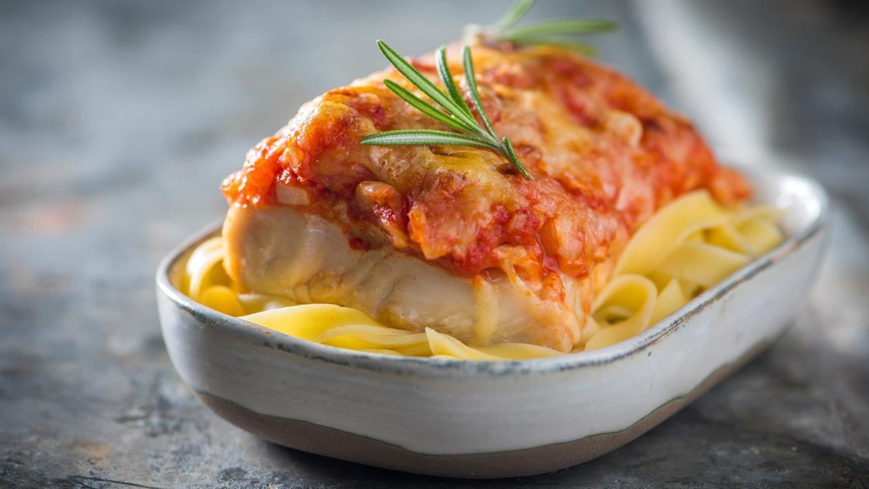 Gratin de poisson aux tomates – Recette