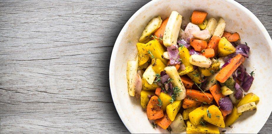 Légumes racines grillés – Recette