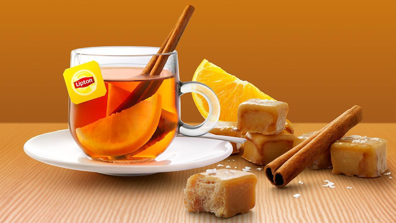 Lipton PerfectT Caramel Warmth – Recette