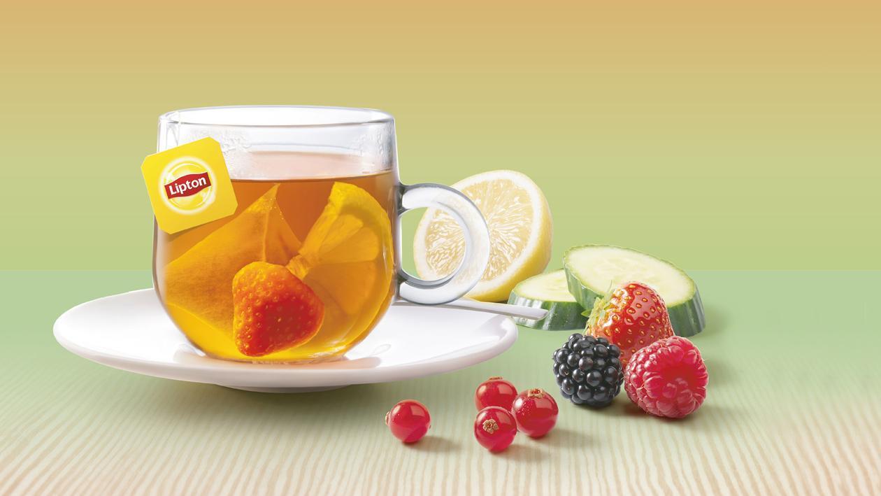 Lipton PerfectT Fresh Fruit Bomb – Recette