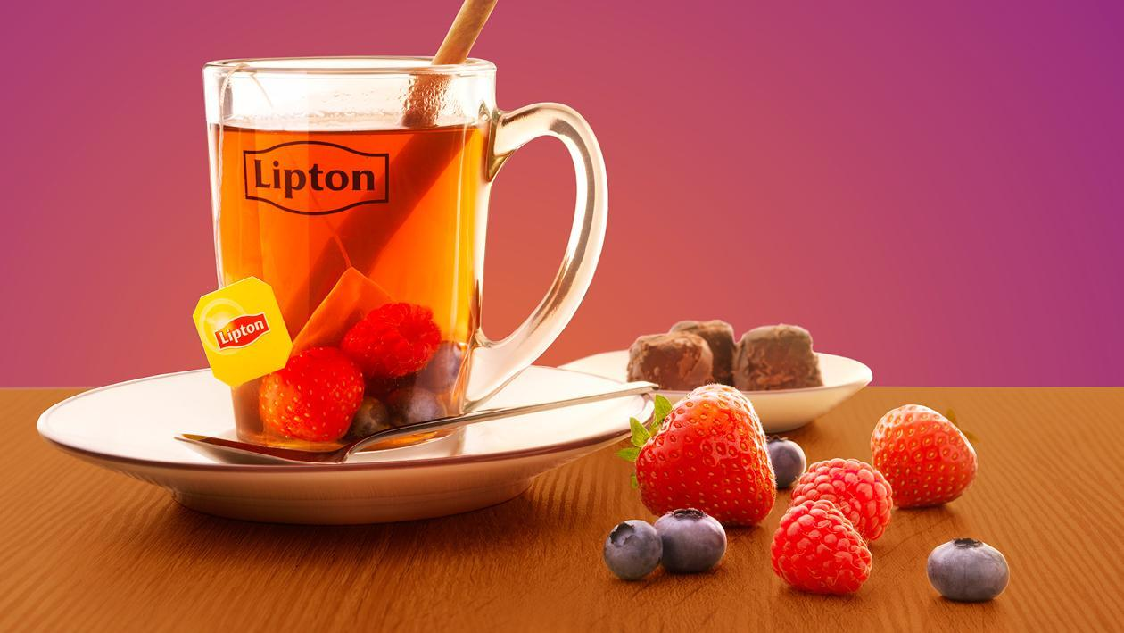 Lipton PerfectT Mixed Berries – Recette