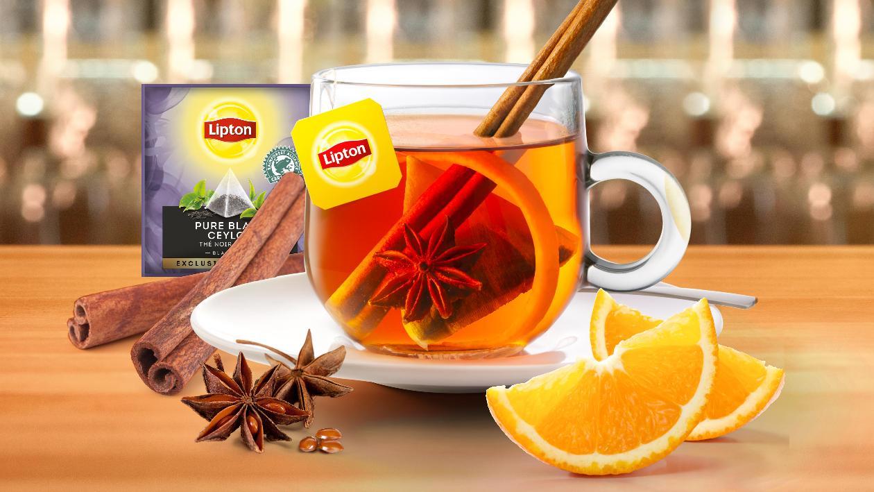Lipton Tea Cocktail au spéculoos – Recette