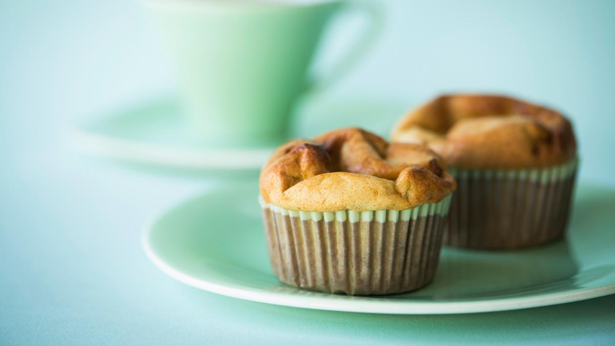 Muffin pomme-cannelle – Recette