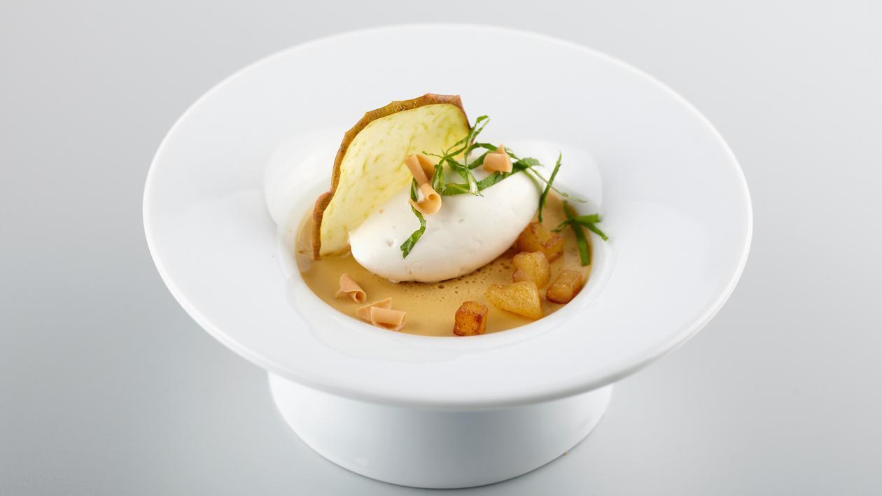 Pot de crème beurre salé aux pommes – Recette