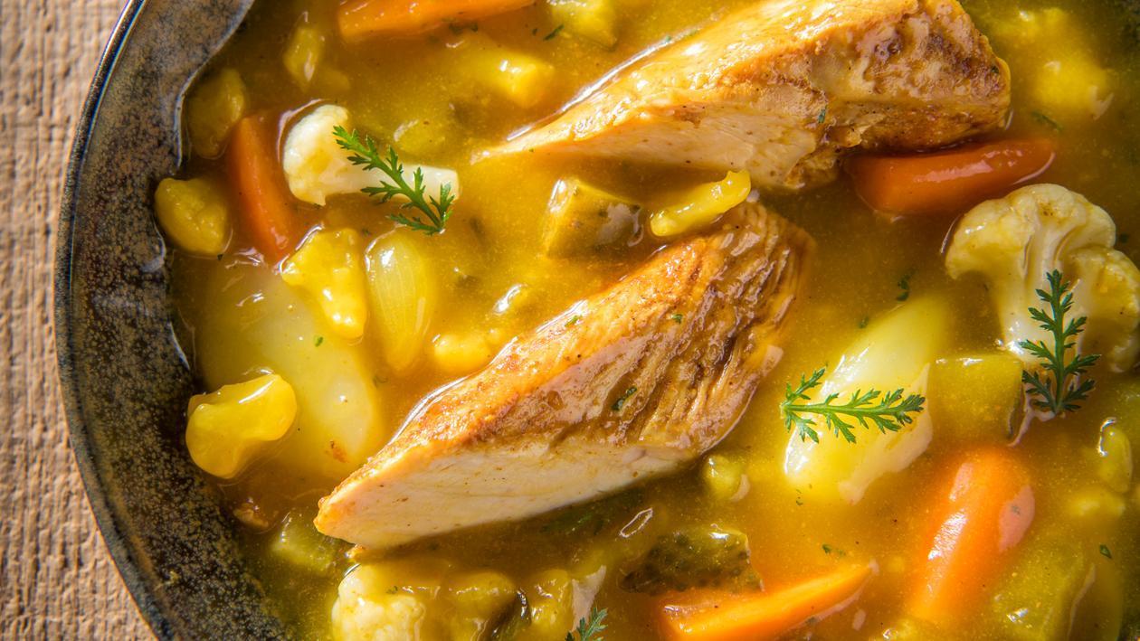 Potée de poulet pickles – Recette