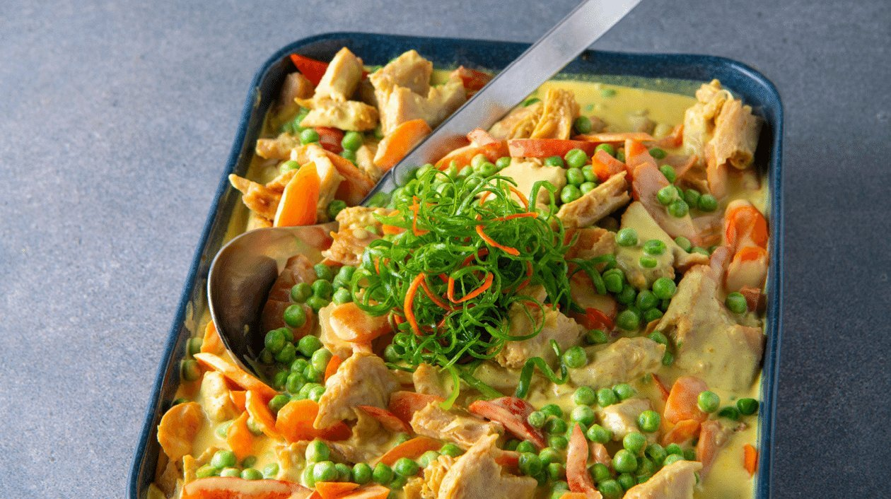 Poulet Curry (sans poulet) – Recette