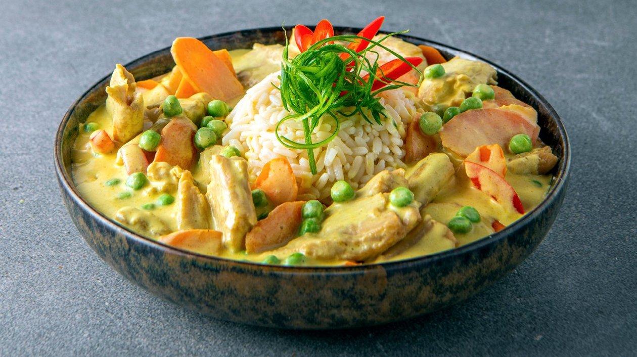 Poulet Curry Veggie – Recette