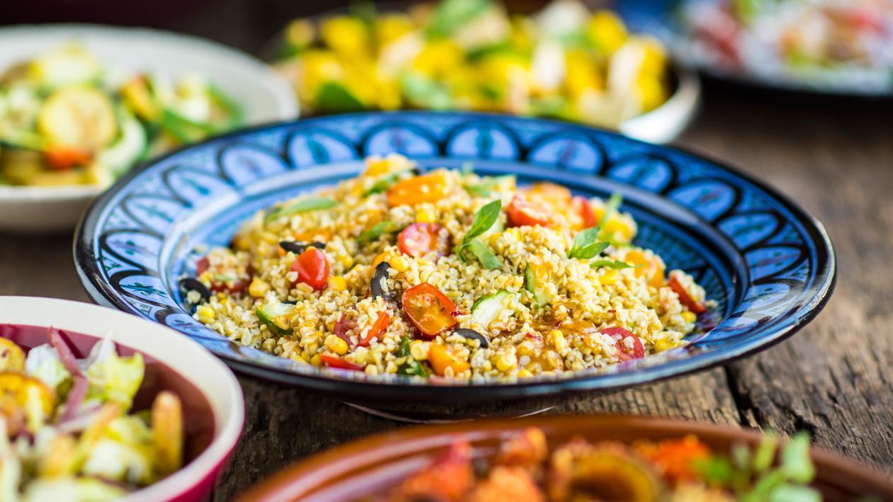 Salade de freekeh – Recette