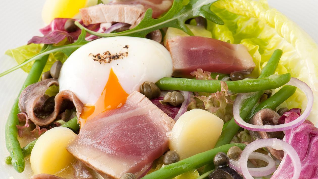 Salade niçoise – Recette