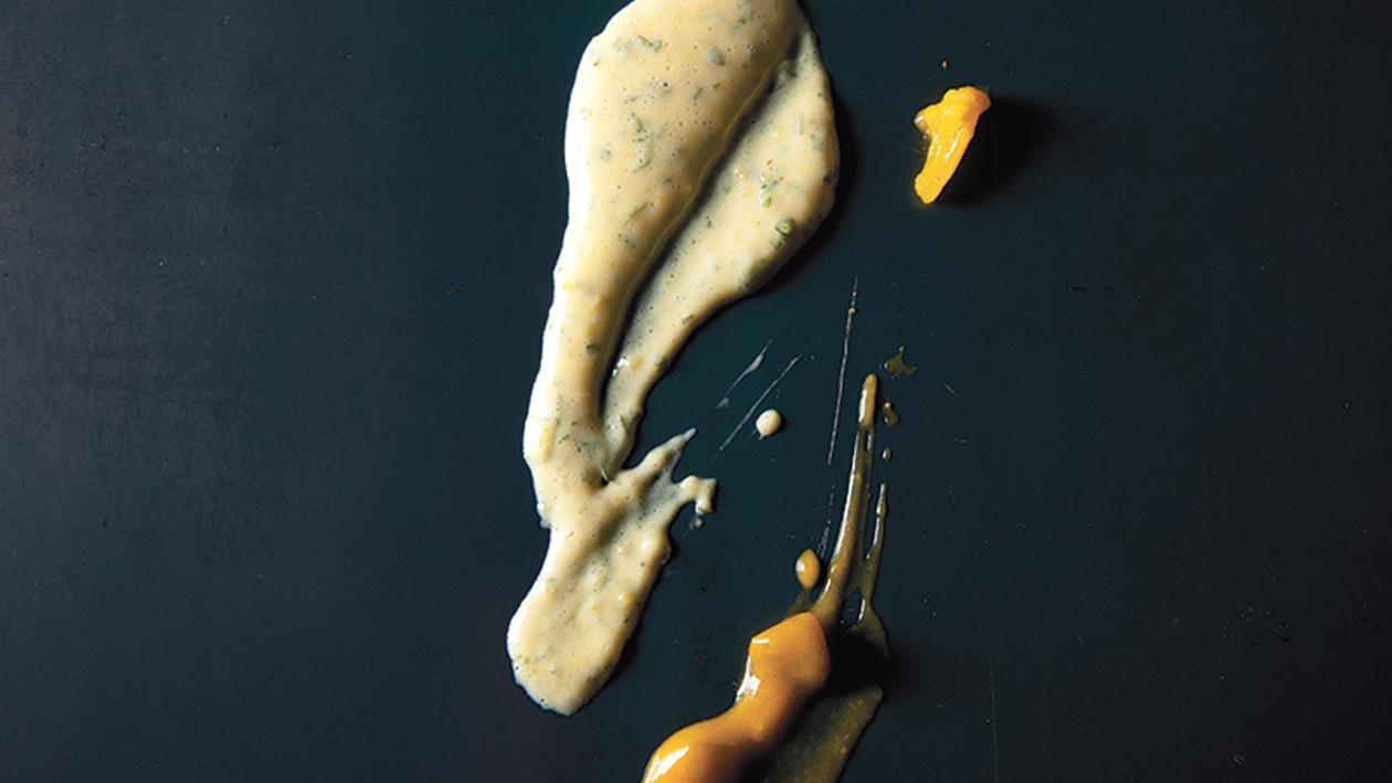 Sauce béarnaise de piccalilli – Recette