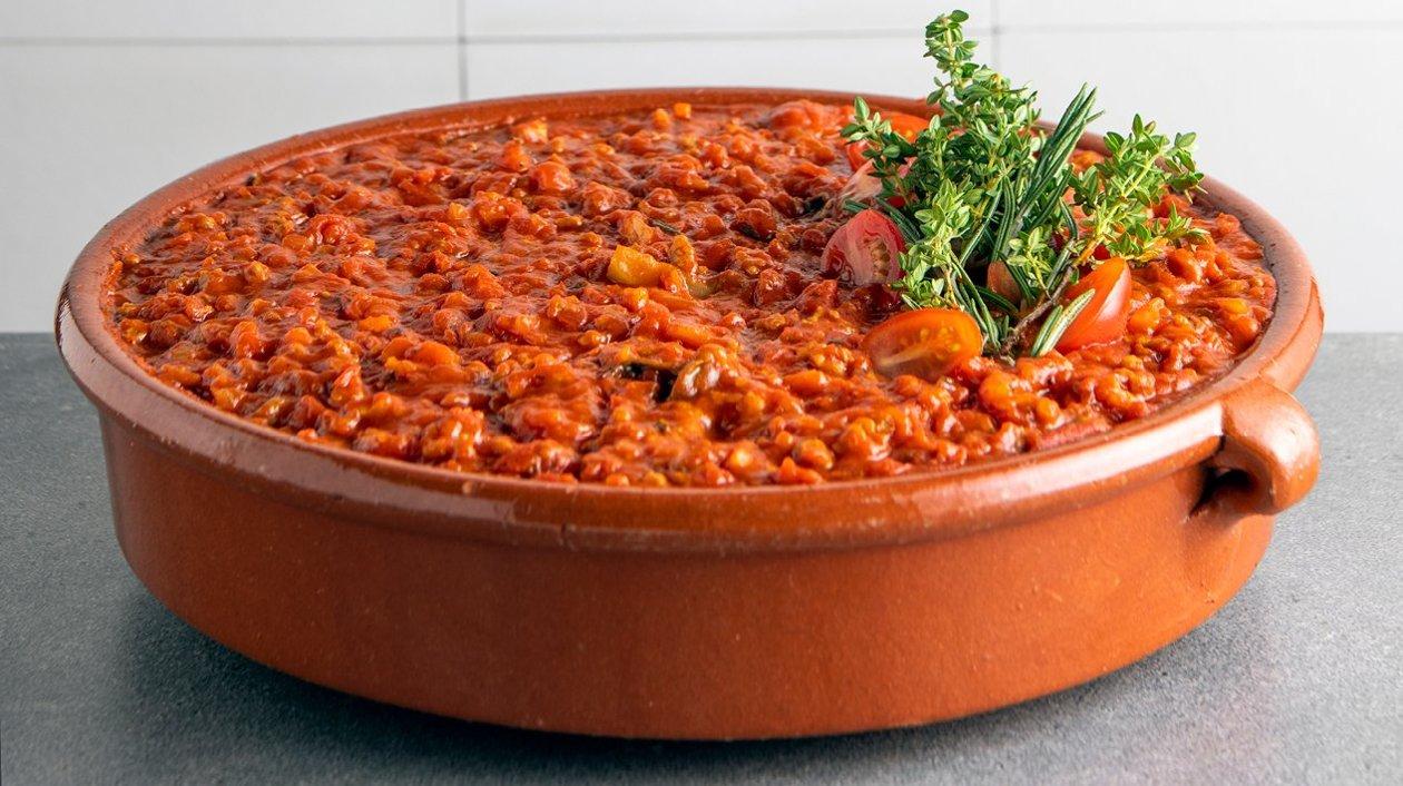 Sauce bolognaise avec mélange de viande hachée (sous-vide) – Recette