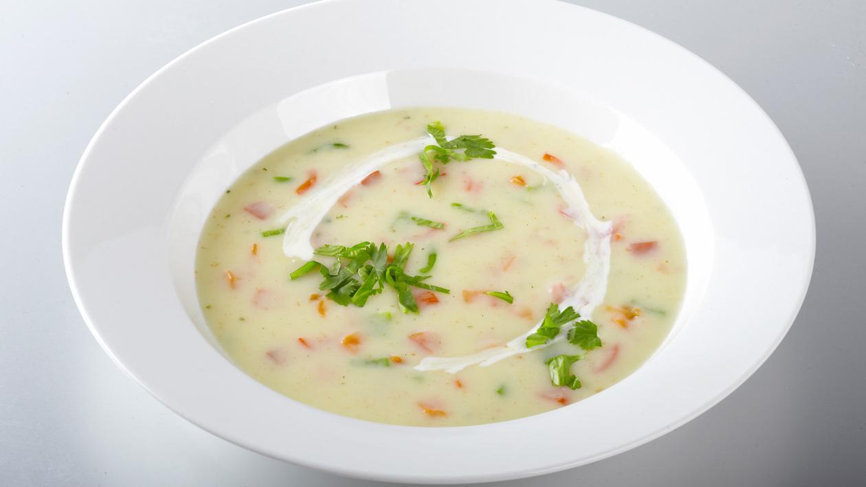 Soupe de maïs à la coriandre – Recette