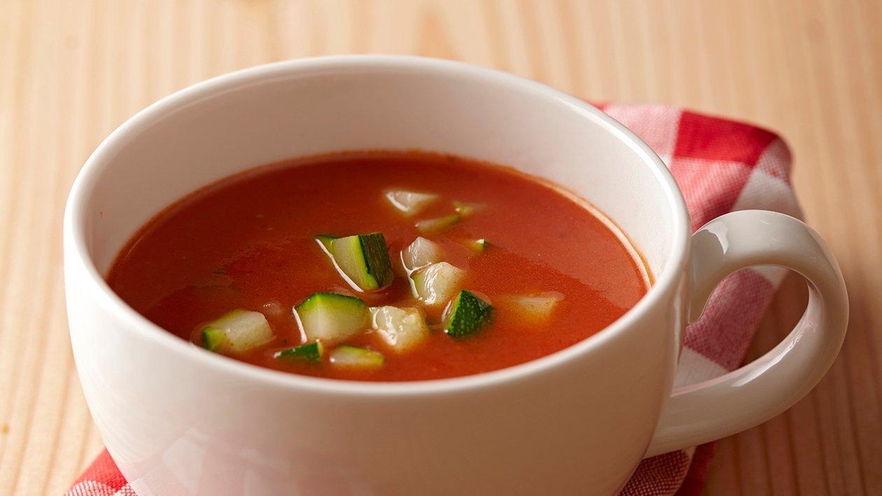 Soupe de tomates toscane – Recette