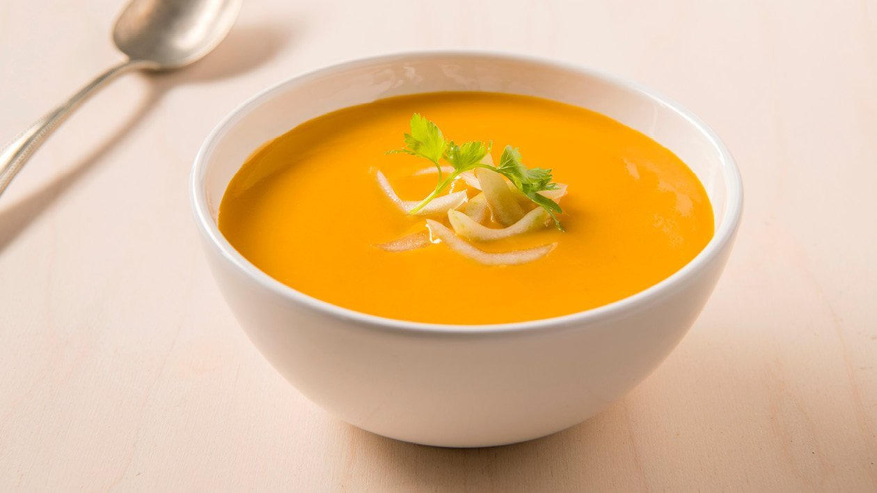 Soupe thaïe au curry et au potiron – Recette