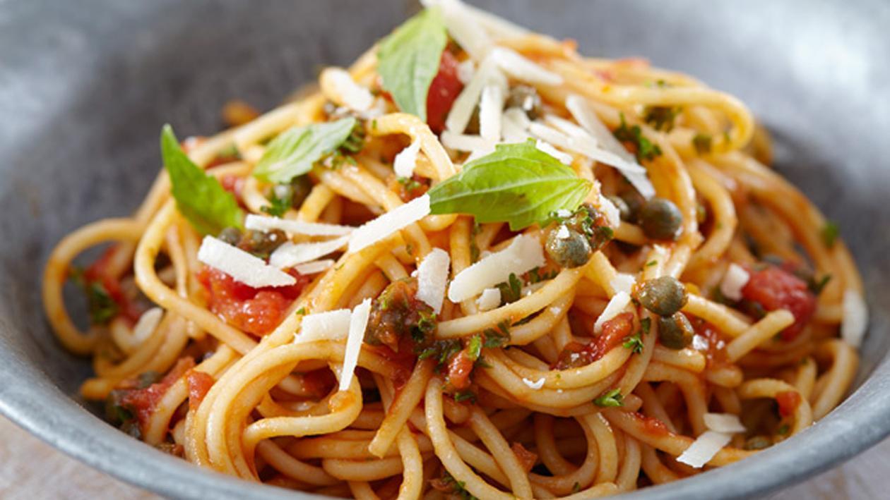 Spaghetti Sparviero – Recette