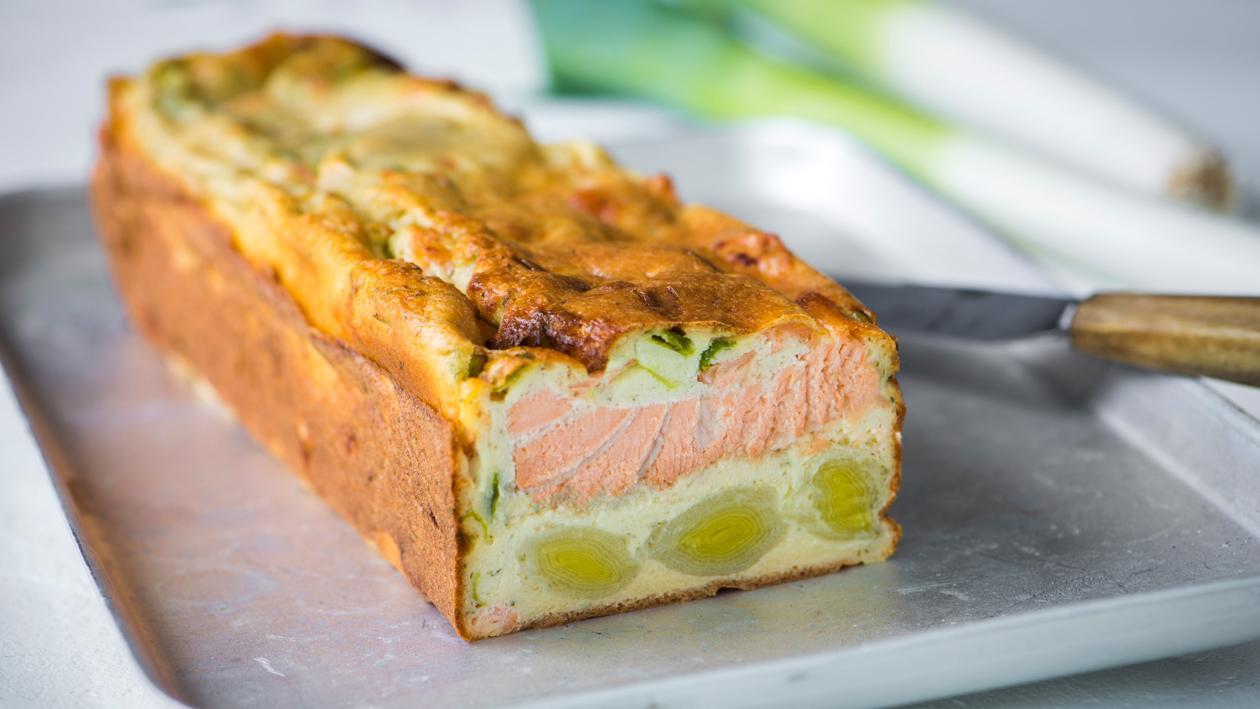 Terrine saumon-poireau – Recette