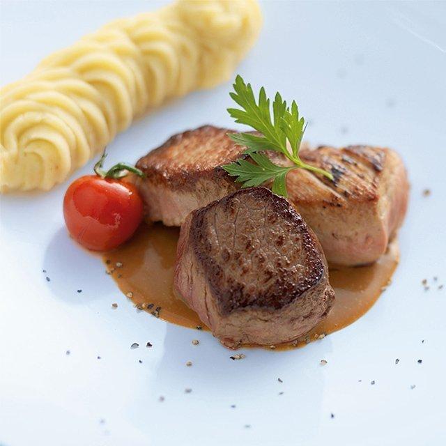 Tournedos de porc avec une sauce vin rouge au poivre – Recette