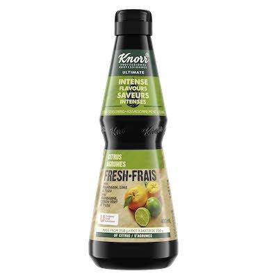 Assaisonnement aux agrumes frais Knorr® Ultimate saveurs intenses 400 ml, Paquet de 4 -