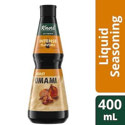 Assaisonnement umami rôti Knorr® Ultimate saveurs intenses 400ml, Paquet de 4 -