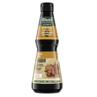 Assaisonnement umami rôti Knorr® Ultimate saveurs intenses 400ml, Paquet de 4 -