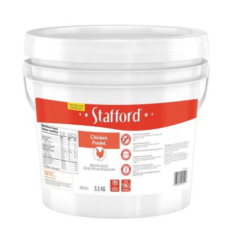 Base de bouillon de poulet Étiquette  Bleue Stafford® -