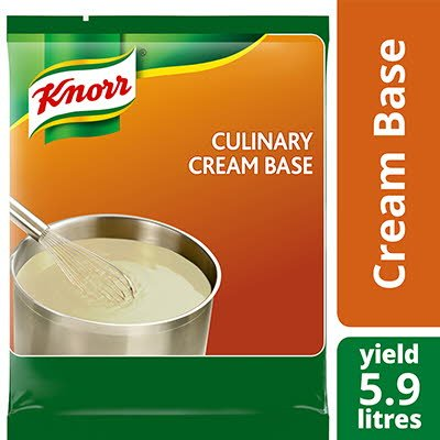 Base de crème culinaire knorr® sans gluten 715 g, paquet de 6