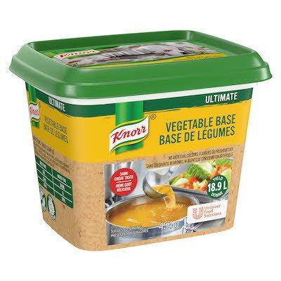 Base de légumes Knorr Ultimate sans gluten454g, paquet de 6