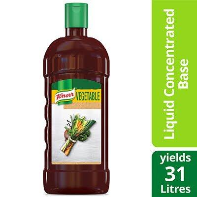 Base de légumes liquide concentrée knorr® ultimate sans gluten 946ml, paquet de4