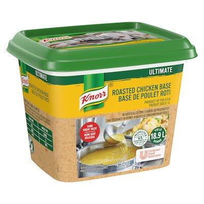 Base de poulet Knorr Ultimate sans gluten, 6x454g