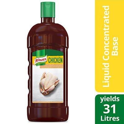 Base de poulet liquide concentrée Knorr® ultimate sans gluten 946 ml, paquet de 4