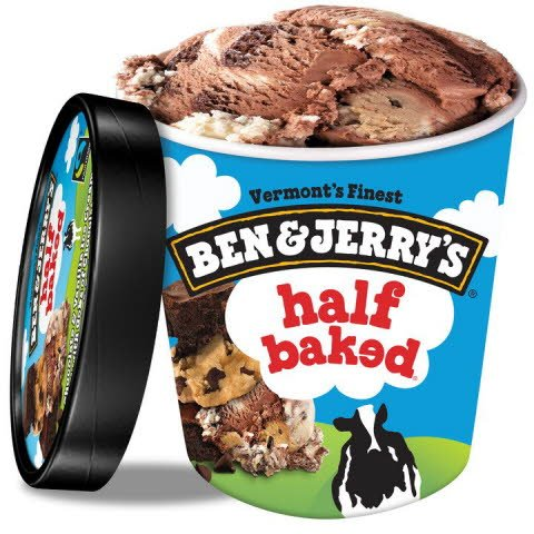 Ben & Jerry's Half Baked® 8x 473 ml -
