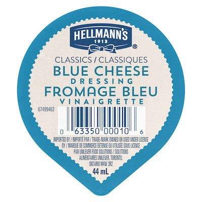 Gobelet pour trempette – Vinaigrette Fromage Bleu Hellmann's® Classiques, 44 ml, paquet de 108 -